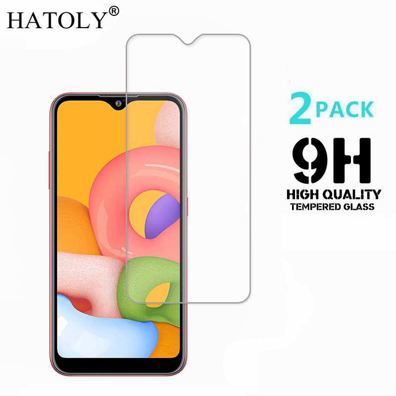 2PCS Tempered Glass For Samsung Galaxy A01 Ultra-thin Screen Protector For Samsung Galaxy A01 Film Samsung A01 Glass A015F/DS