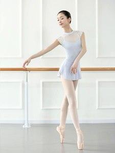 Image 3 - Mono de LICRA sin mangas para mujer, leotardos para Ballet latino, para adulto