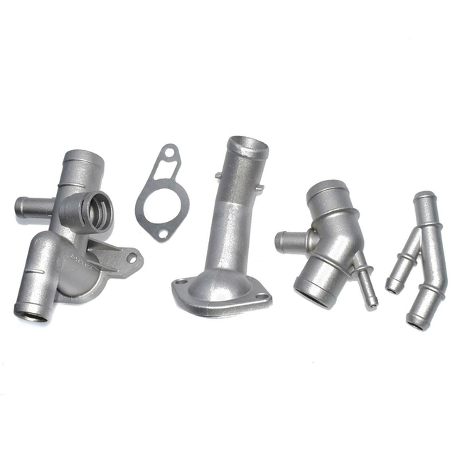 7 pièces connecteur de tuyau de liquide de refroidissement de moteur en Aluminium, Kit de mise à niveau de bride de liquide de refroidissement pour Golf MK4 Jetta G-TI 1.8T 2000-2005 pour Au di TT 2000