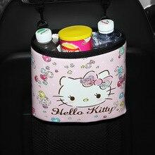 KT натуральный продукт торговля Автомобиль Многофункциональный мультфильм висячий автомобиль мусор пакеты для хранения