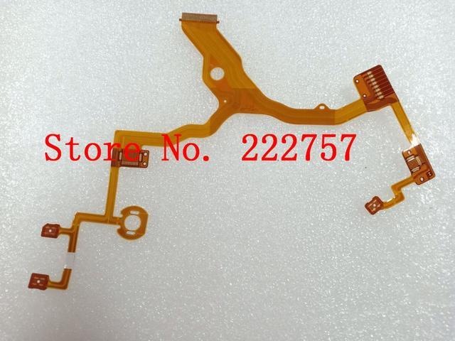 Yeni Len geri ana Flex kablo şerit onarım değiştirme için HX300 HX400 dijital kamera parçası soket olmadan