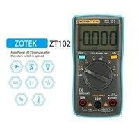 ZT102 דיגיטלי מודד Multimetro esr טרנזיסטור Tester דיגיטלי RM Mastech uni רב מטר 102/101 t מטר Sanwa Multimetre-במולטימטר מתוך כלים באתר