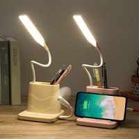 container berth lamp bedroom student reading lamp USB charging is muti_function the small desk lamp that shield an eye