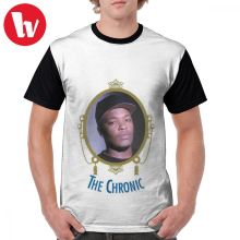 Nwa T Shirt Dr Dre The Chronic T-Shirt Mens Awesome Graphic Tee Shirt Graphic Fashion Polyester Short Sleeve Plus size Tshirt недорого