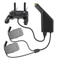 Araba şarjı için DJI Mavic 2 Pro Zoom akıllı pil şarj göbeği Mavic 2 Pro araç konektörü USB adaptörü akülü araba şarj cihazı