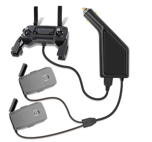 Image 1 - Car Charger For DJI Mavic 2 Pro Zoom Intelligent Battery Charging Hub Mavic 2 Pro Car Connector USB Adapter Battery Car Charger