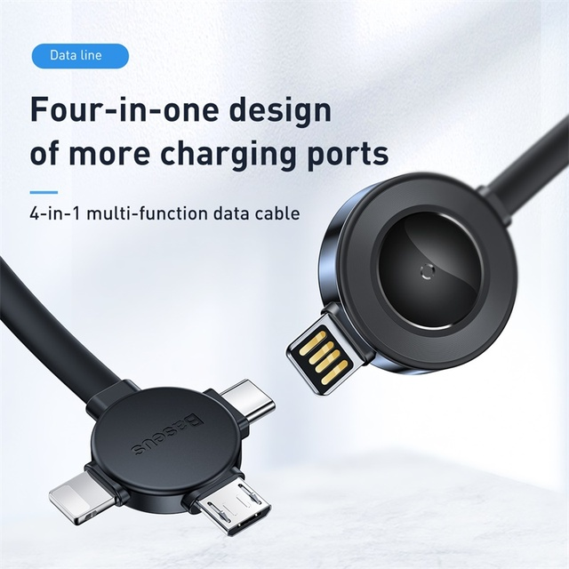 Wireless Charging All in One USB Cable for Phones and Watches