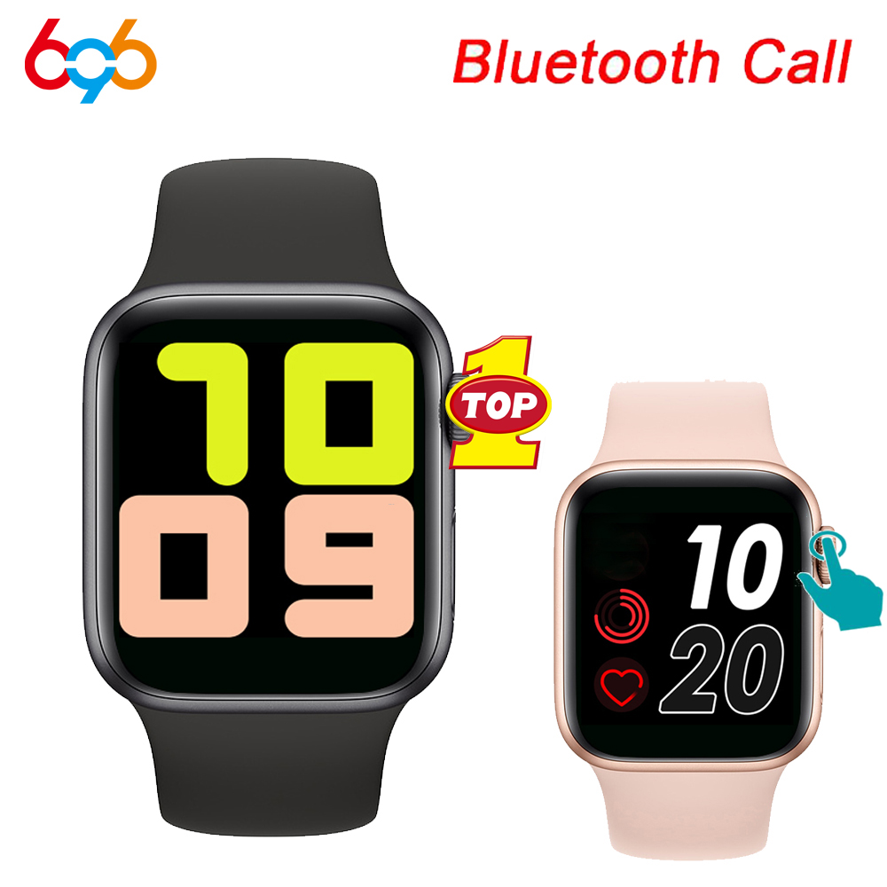 2020 T500 Smart Watch Series 5 Bluetooth Call <font><b>44mm</b></font> <font><b>Smartwatch</b></font> Change Strap Heart Rate Monitor for IOS Android Phone PK <font><b>IWO</b></font> 12 <font><b>8</b></font> image