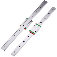 cnc parts MGW7 MGW12 MGW15 MGW9 300 350 400 450 500 600 800mm MGN linear rail slide 1pc MGW12 linear guide +1pc MGW12 C carriage