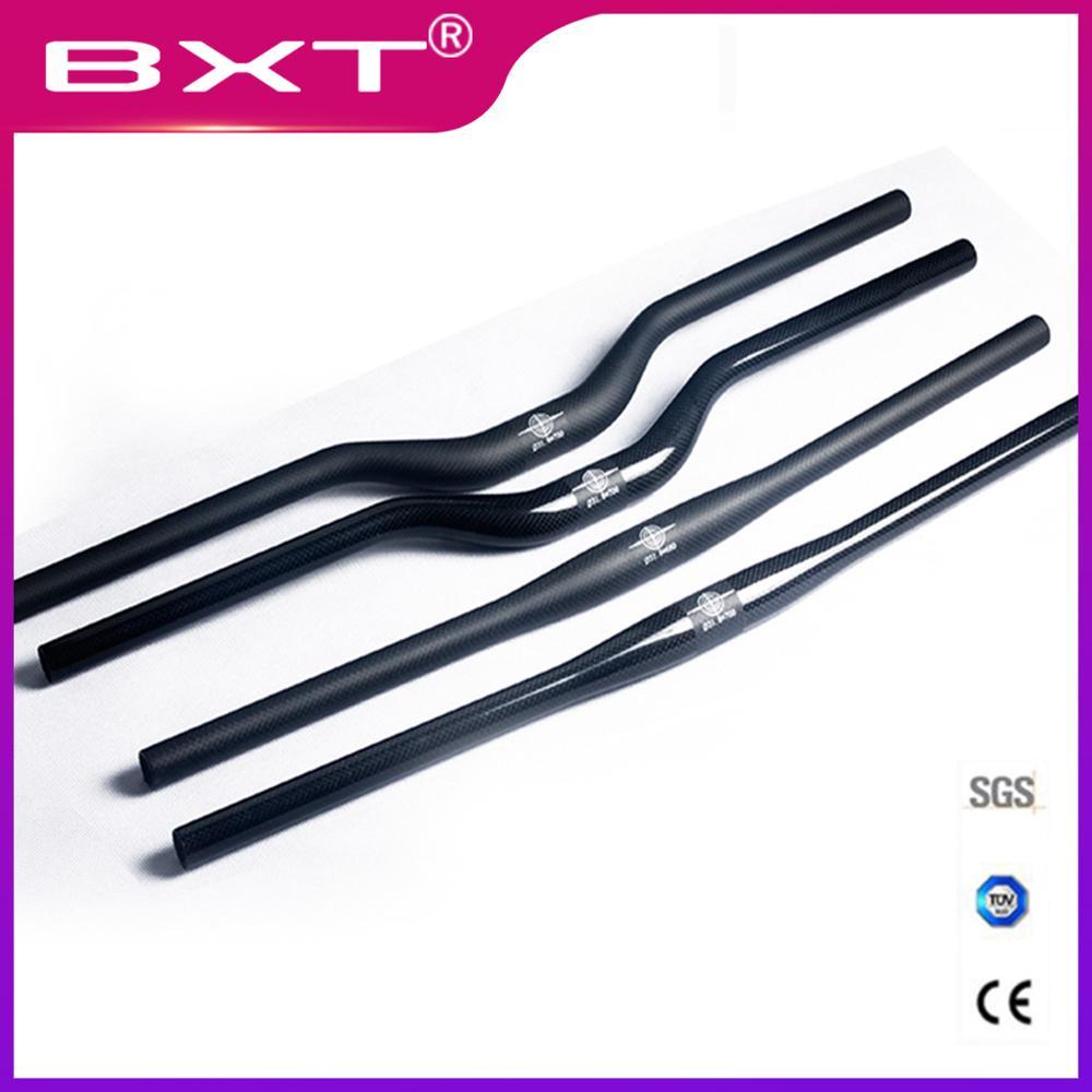 MTB bike carbon handlebar riser//Flat handlebar 690//720mm 9 Degree 31.8mm