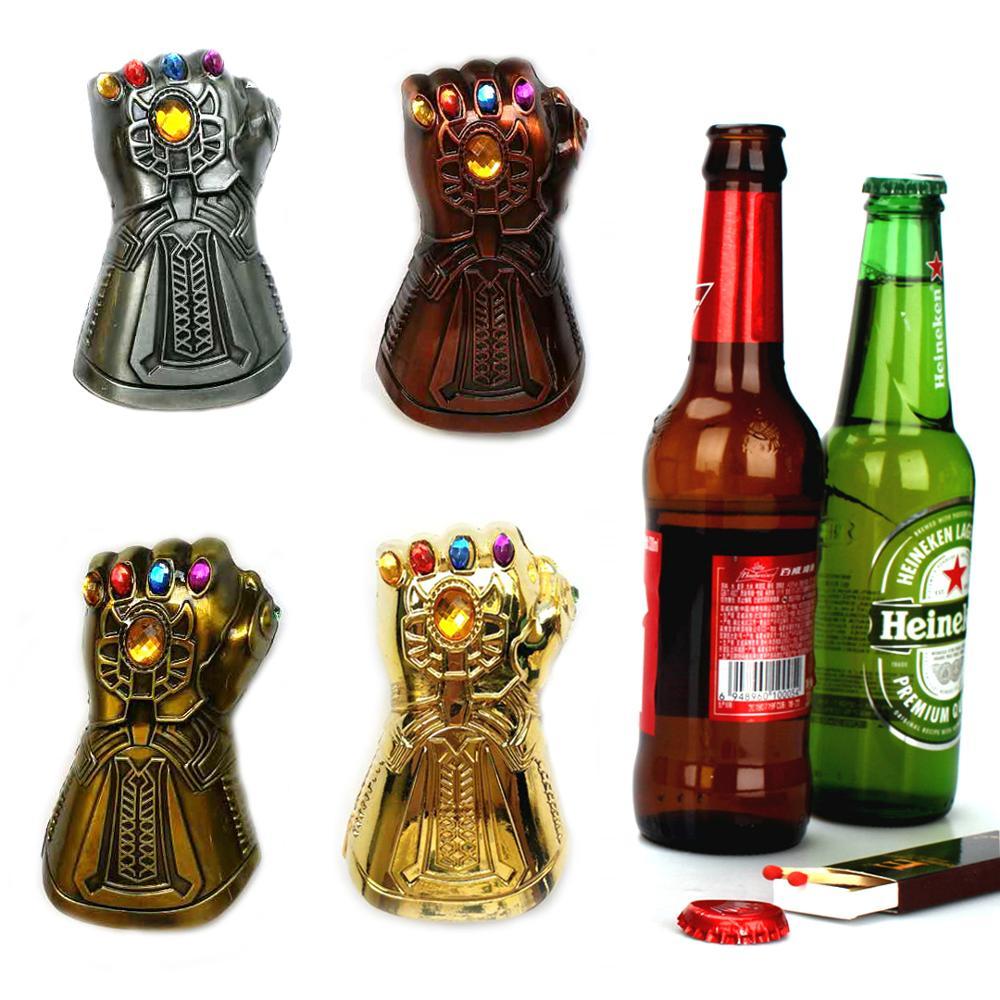 Kitchen Bar Tools Household Openers Creative Beer Opener Multi-purpose Infinity Thanos Gauntlet Glove Soda Glass Cap Remover 35