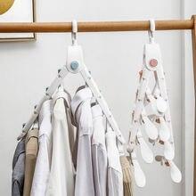 Складная вешалка для пальто вращающаяся на 360 градусов гардероба