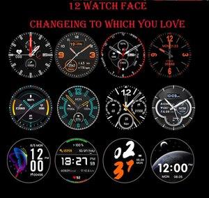Image 5 - מלא מגע חכם שעון גברים נשים ספורט שעון קצב לב צג Smartwatch עבור IOS אנדרואיד טלפון PK S10