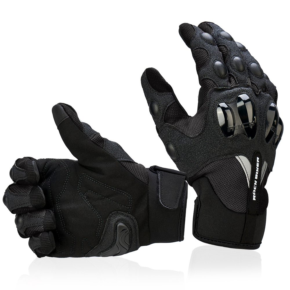 KEMiMOTO Motorcycle Gloves Breathable Motocross Luvas Cycling Mountain Bike Guantes Touch Screen Moto Gloves Men Summer Winter in Gloves from Automobiles Motorcycles
