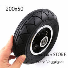 200X50 tyre with Wheel Hub 8 inch Electric scooter tire for Folding Electric Scooter E-Scooter Pocket Bike(China)