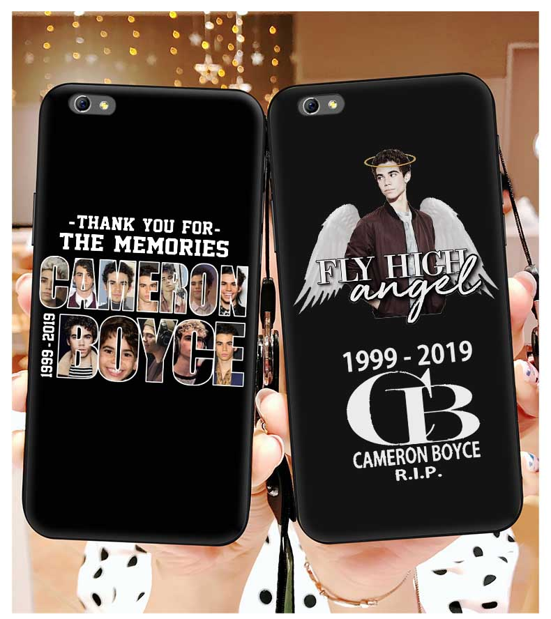 Clear Soft Silicone Descendants 3 Cameron Boyce Phone Case For iPhone 4 5S SE 6 S 7 8 Plus X Xs Max Xr Grown Ups 2 Fundas Covers image