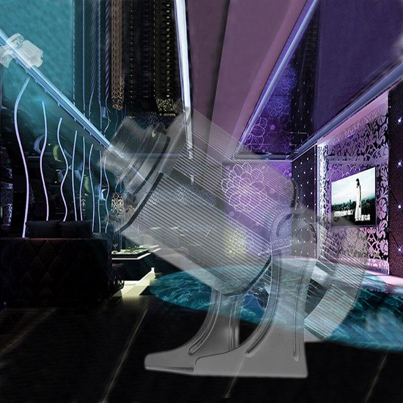 À la mode LED Image projecteur 40W café Aquarium Waterwave décor scène flux effet Gobo lumière 3.6m Projection Image boutique décoration