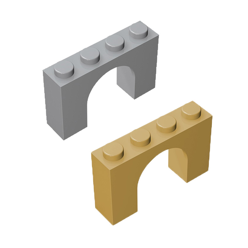 10pcs/20pcs Diy Assemble Building Block Toy Moc Arch 1x4x2 Bricks Parts Educational Creative Gift Children Toys