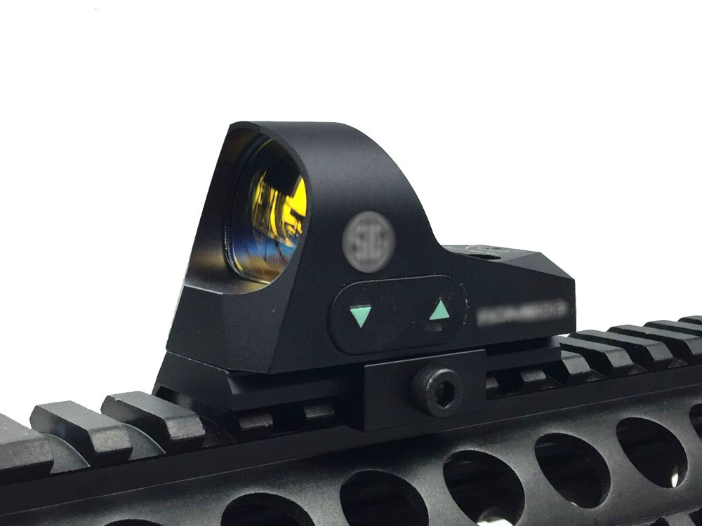 ROMEO3 1x25 Mini Reflex Sight 3 MOA Dot Scope Picatinny QD Mount Tactical Red Dot Sight for Hunting Rifles Carbines