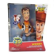 2020 Original Disney Toy Story 20th Talking Woody Jessie PVC Action Figures Model Toys Speaking Sheriff Collectible Doll For Kid printio sheriff