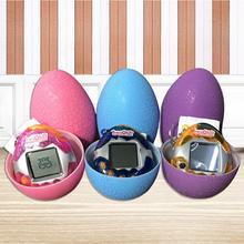 Флэш-трещина яйцо игрушка электронная игра машина виртуальное животное видео игровая консоль динозавр сюрприз яйцо игрушка подарок детям