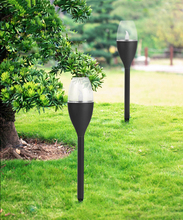 Solar candle light imitation candle LED outdoor garden park landscape lawn party courtyard patio decoration lamp outdoor solar lamp ip44 waterproof park garden decoration landscape light courtyard path lighting solar lawn lamp