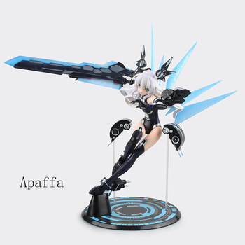 31cm Anime Game Figure Toys Hyperdimension Neptunia Noire Black Heart PVC Action Figure Toys Collection Model Doll Gift