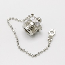 L16 N type protective cover N connector dust cap for N male connector with Fixed chain 10pcs/lot