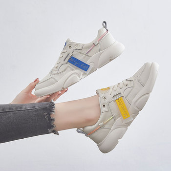 2020 new mode spring tenis feminino slip on shoes for women pregnant casual loafers Low--top flat shoes women off white sneakers