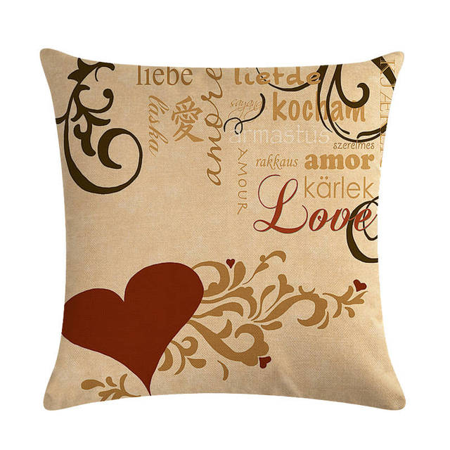Cowboy Butterfly Pattern Cotton Linen Throw Pillow Cushion Cover Home