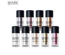IMAGIC Professionelle Glitter Lidschatten palette 9 Farben Pigment Lidschatten Make Up Marke Schönheit Kosmetische