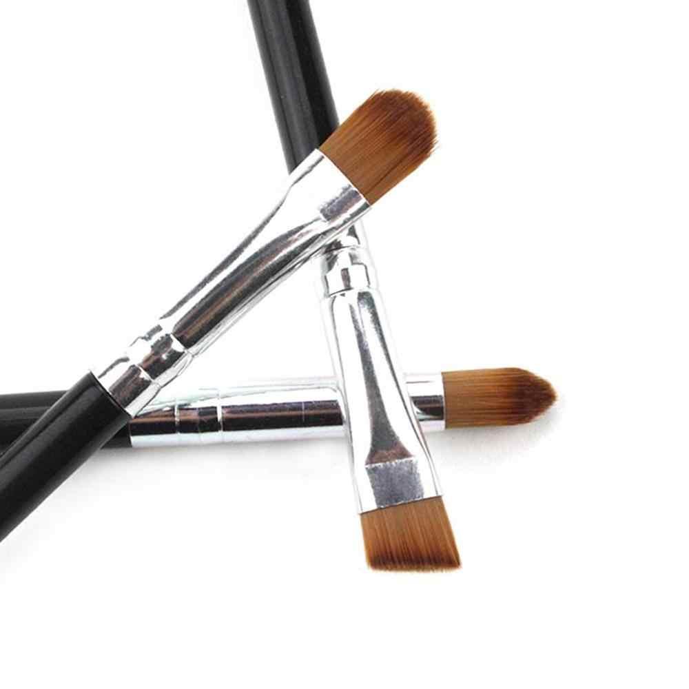 Hot 1/3Pcs Make-Up Borstel Cosmetische Penselen Kabuki Gezicht Neus Borstels Concealer Foundation Wenkbrauw Eyeliner Blush Poeder Make-Up tool