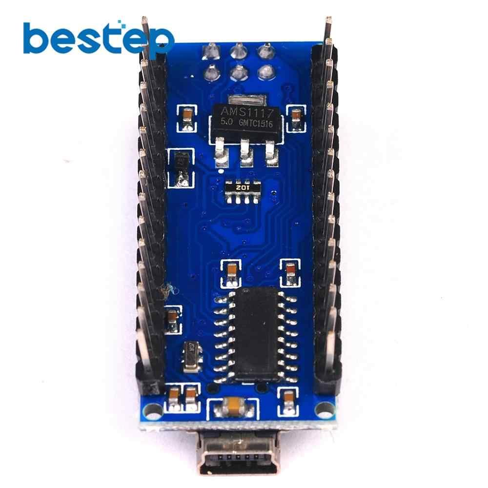 نانو USB صغير مع الإقلاع متوافق نانو 3.0 المراقب المالي CH340 برنامج تشغيل USB 16Mhz نانو v3.0 ATMEGA328P/168 P لاردوينو