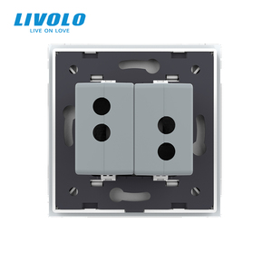 Image 5 - Livolo White Crystal Glass Panel, Two Gang USB Plug Socket / Wall Outlet VL C792U 11/12/13/15,4colors,no logo