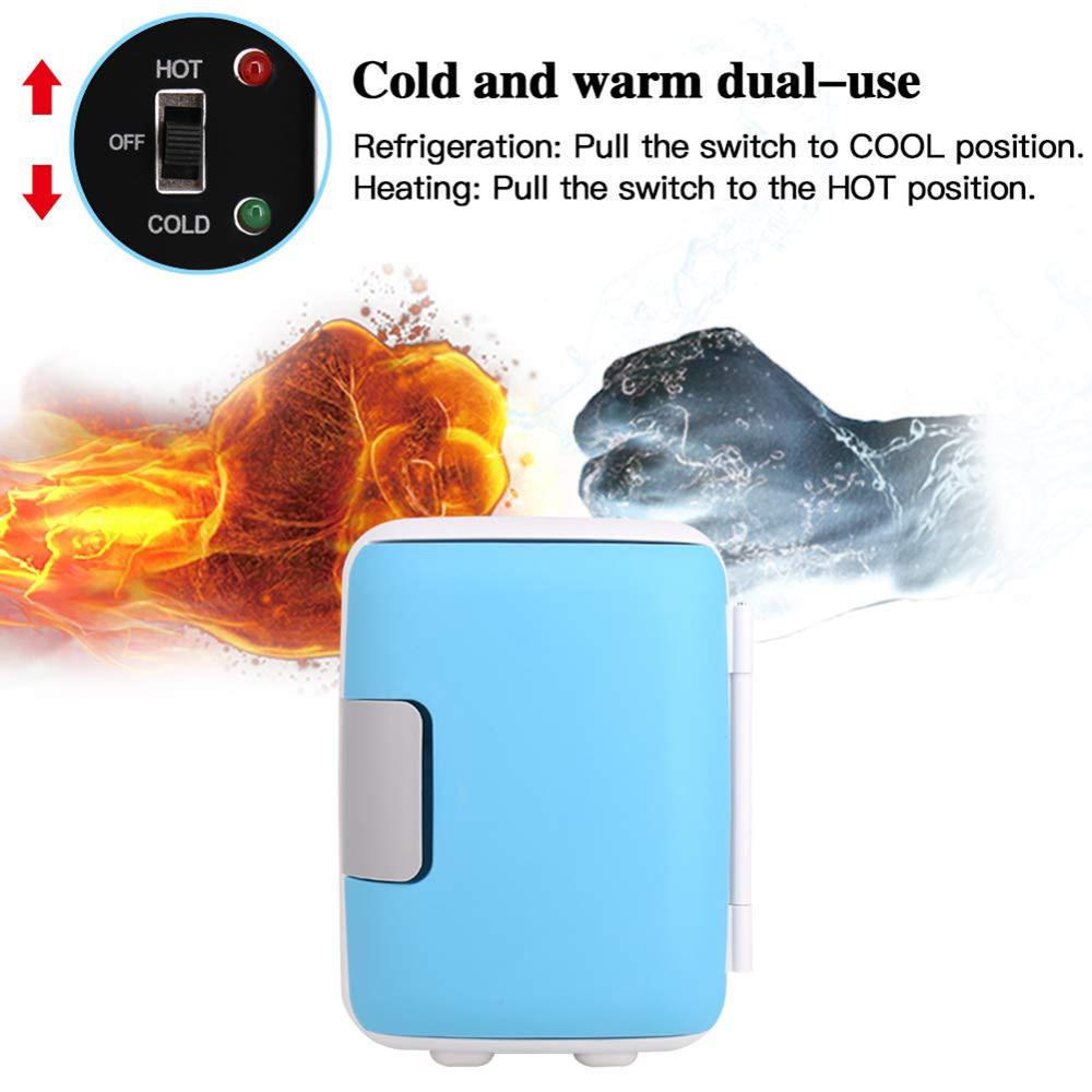 New Cooling Heating Fridge Electric Cooler Warmer Home Dual Use Refrigerator Low Noise AC/DC Compact Refrigerators