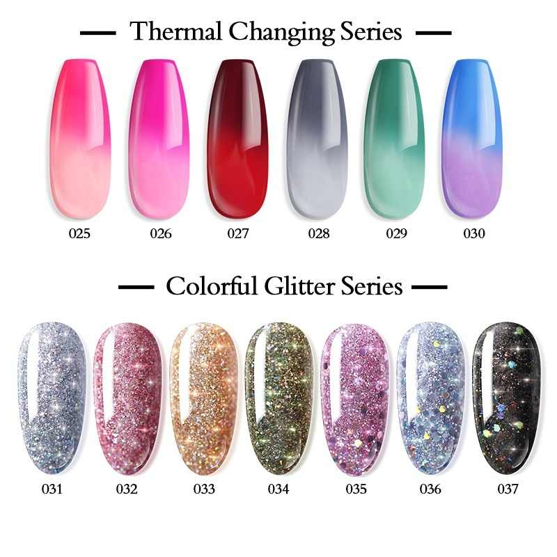 Azure Kecantikan 13 Pcs/lot Glitter Gradient Warna Mencelupkan Bubuk Nail Art Set Mengkilap Kuku Seni Debu DIP Bubuk Base Top gel Nail Kit