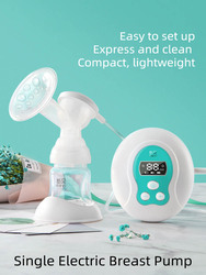 Электрический молокоотсос Ncvi, автоматический молокоотсос для послеродового кормления для женщин и детей, USB, XB-8615