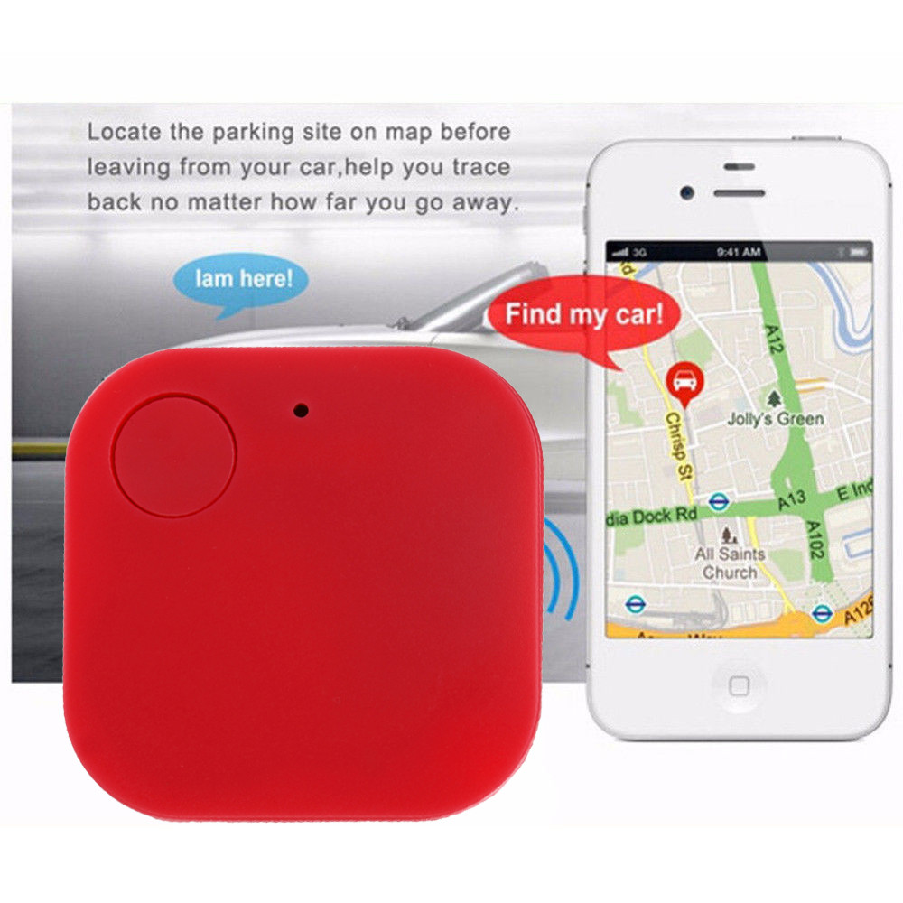Smart Tag Wireless Bluetooth Tracker with Anti-lost Alarm Reminder and APP Control System 7