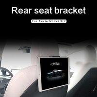 Heenvn-soporte de teléfono móvil para asiento trasero de coche, accesorios de montaje para modelo Tesla 3/Y 2021