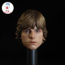"""Modelo de escultura de cabeza de Luke para hombre, cuerpo de figura de acción masculino de 12 """", accesorio de soldado, 1/6"""