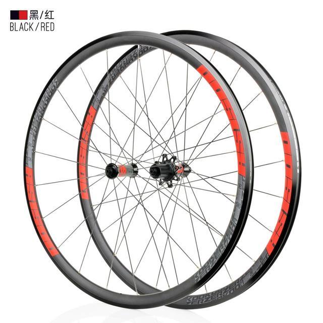 חדש KOOZER RS1500 כביש אופני 700C קדמי 2 אחורי 4 נושאות 72 טבעת 30MM רים 2:1 דיבר גלגלים ultralight 1500g שימוש RS330