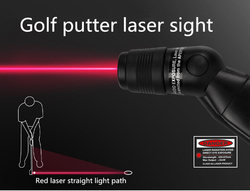 PGM Golf Putter Laser Aiming Indoor Teaching Putting Target Putter Helping Practice