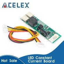 Convertidor de alta tensión CA-155 LED placa controladora CC LED fuente actual controlador de fuente de alimentación de ajuste de luz 10-30V a 9,6 V