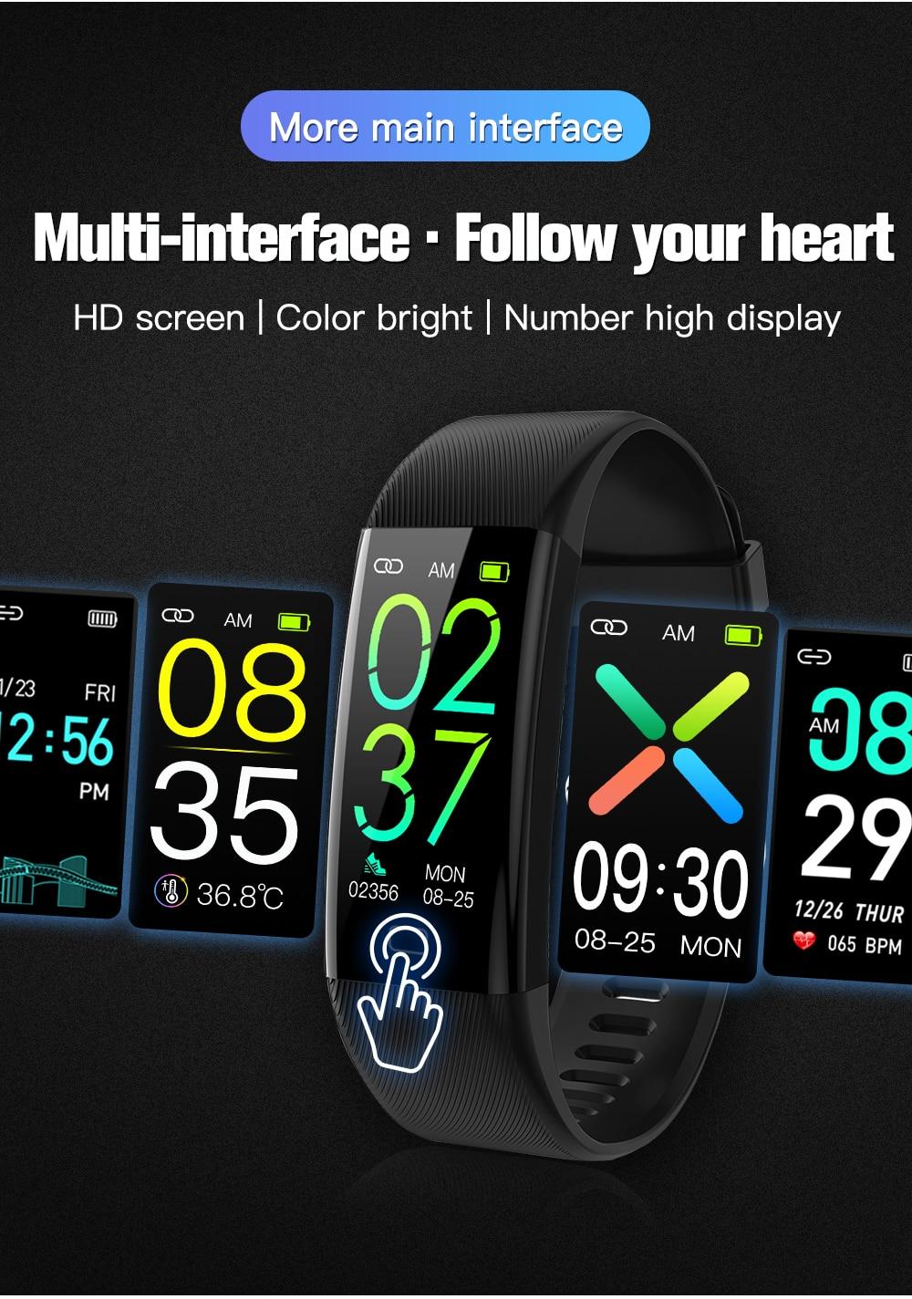 Smart watch Fitness Tracker smart trendse