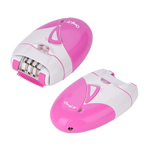 Women's Electric Epilator Rechargeable Bright Light Hair Removal Device Body Fac