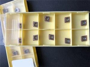 Image 1 - 10 個CCMT060204 LF6018 CCMT21.51 鋼ステンレス鋼鋳鉄