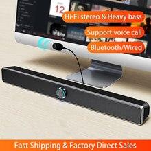 Barra de som altavoces alto-falantes bluetooth barra de som para tv subwoofer música parlantes alta potência sistema de teatro em casa sons
