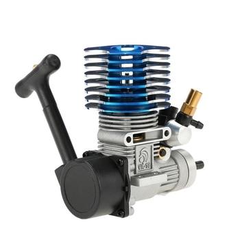 Top 02060 for HSP Parts Spare Parts for 1/10 R/C Model Car Blue 18 Nitro Engine 2.74Cc 02060 RC Car Engine