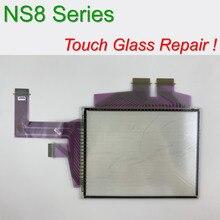 Оригинальное NS8-TV00-ECV2 стекло с сенсорным экраном для ремонта панели управления HMI~ сделай сам, есть