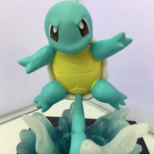 11cm anime pokemon gk pikachu squirtle model statue pvc action figure collectible model toys for children gifts 11cm Anime Pokemon GK pikachu Squirtle model statue PVC Action Figure Collectible Model Toys For Children Gifts